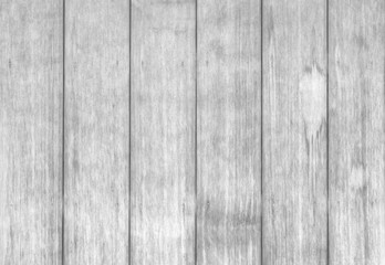 Old white wood fence texture and seamless background