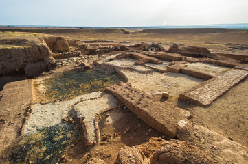 Ebla (modern Tell Mardikh, Idlib Governorate, Syria) was an ancient city about 55 km (34 mi) southwest of Aleppo.