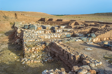 Ebla, Syria. The site is most famous for the Ebla tablets, an archive of about 20,000 cuneiform tablets found there