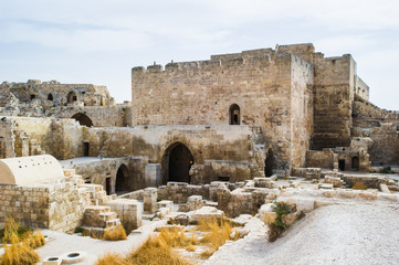 Ruins of the Old City of Aleppo, Syria