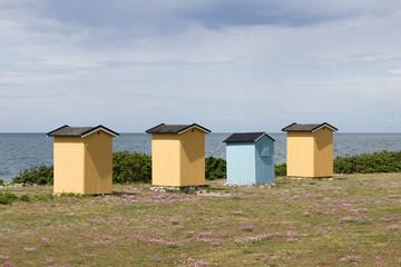Strandhütten am Öresund