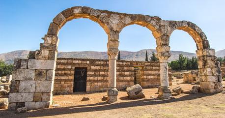 Temple of Jupiter, Baalbek, Lebanon. It is Lebanon's greatest Roman treasure,