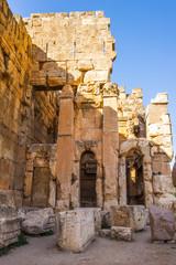 Ancient ruins of Baalbek, Lebanon