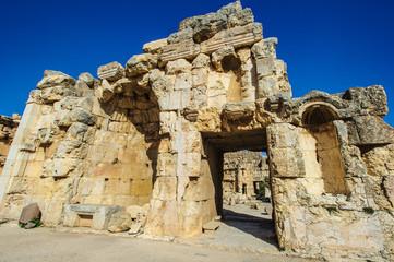Baalbek, Lebanon. Heliopolis, the City of the Sun. UNESCP World Heritage
