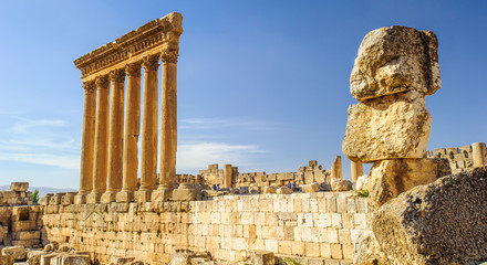 Baalbek, Lebanon. Heliopolis, the City of the Sun. UNESCO World Heritage
