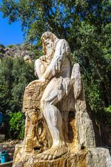 Statue in Beirut, Lebanon