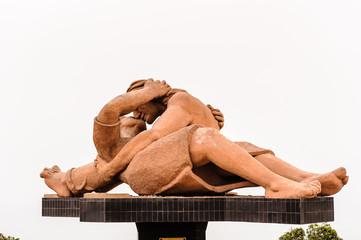 Monument in Peru