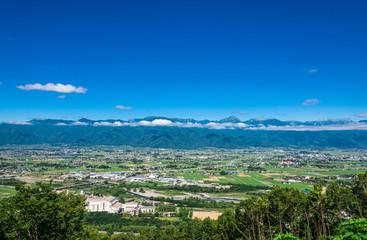 信州 安曇野の風景