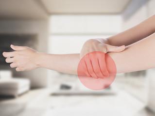 Braccio destro dolore gomito