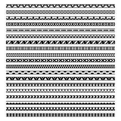 Set of twenty ethnic decorative elements design