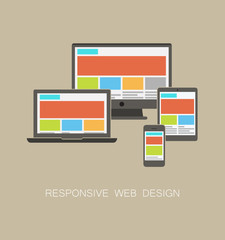 Fully responsive web design