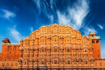 Keuken foto achterwand India Hawa Mahal Palace of the Winds, Jaipur, Rajasthan