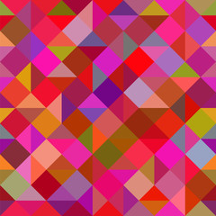 abstract geometric background of bright multi-colored triangles