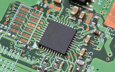 Chip mit Schaltkreisen