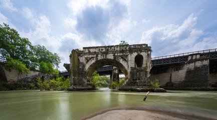 Pons Aemilius - Borken Bridge - Rome