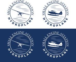 emblem of hydroplane