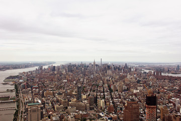 Midtown Manhattan from the World Trade Center