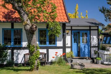 Idyllisches Fachwerkhaus auf Bornholm