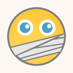 Captive - Cartoon Smiley Vector Face