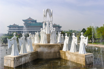 Monument in North Korea, Asia