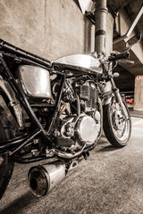 classic vintage motorcycle