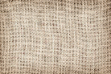 Natural sackcloth textured for background
