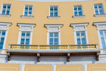 Building around the Palace Square in Saint Petersburg