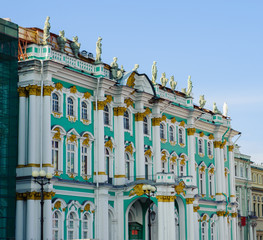 Russian Hermitage in St. Petersburg