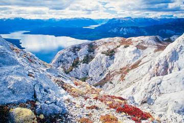 Tagish Lake northern British Columbia Canada