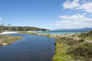 Maria Island Tasmania beach wilderness