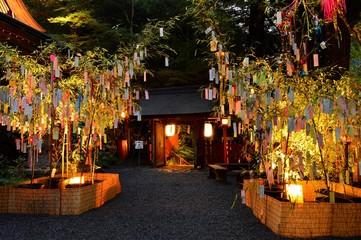 貴船神社の七夕飾り