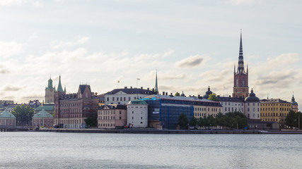 Old town of Stockholm, the capital and the largest city of Sweden, Scandinavia