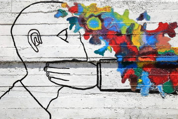 shut your mouth-graffiti-spain