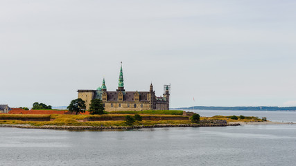Kronborg Castle Helsingør, Denmark. Elsinore in William Shakespeare's play Hamlet, Kronborg is one of the most important Renaissance castles in Northern Europe. UNESCO's World Heritage