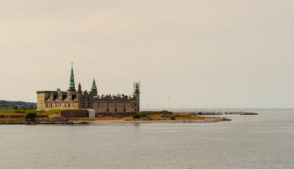 Kronborg Castle Helsingør, Denmark. Elsinore in William Shakespeare's play Hamlet, Kronborg is one of the most important Renaissance castles in Northern Europe. UNESCO's World Heritage