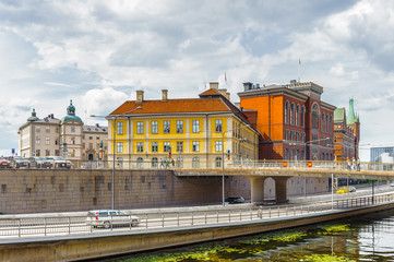 Architecture of the old town of Stockholm, Sweden