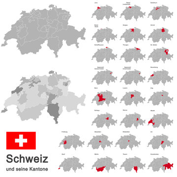 Switzerland and cantons