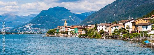 Brusino Arsizio Switzerland  city images : Brusino Arsizio, village over the Lake of Lugano, Switzerland