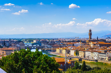 Landscape of the Florence, Italy