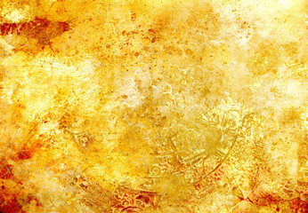 abstract color Backgrounds, painting collage with spots, rust