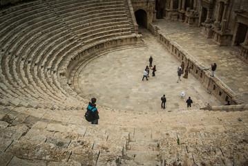 Amphitheater in Jerash, Jordan