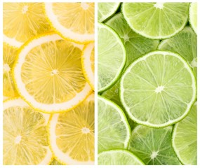Lemon, citrus, green.