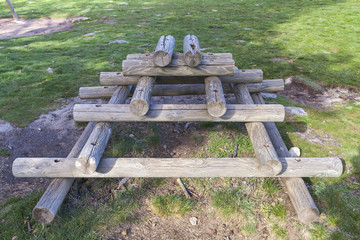 Wooden Fun Structure