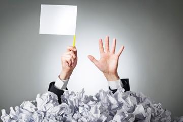 Stress, paperwork, business.
