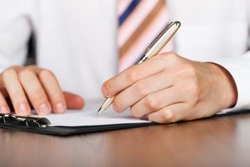 Writing, Letter, Financial Advisor.