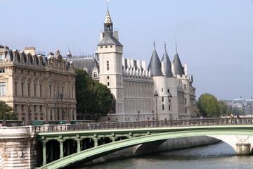 Conciergerie, Pont au Change, Paris, France