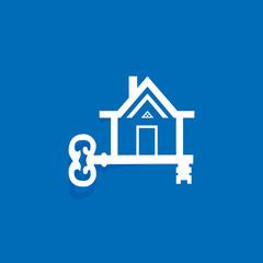 creative real estate icon vector