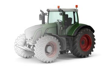 Moderner Traktor (mix)