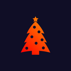 New Year background icon