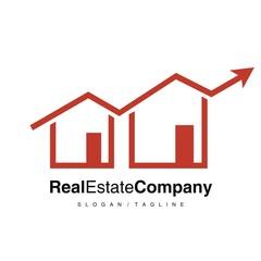 Property Real Estate logo icon vector